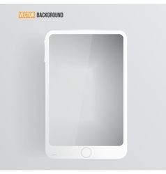 mobile icon and glossy vector image