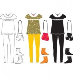 clothes special vector image