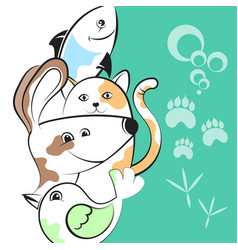 pets for business vector image vector image