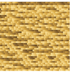 brush golden horizontal lines background vector image