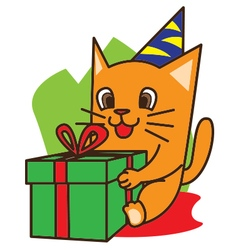 Cat Birthday vector