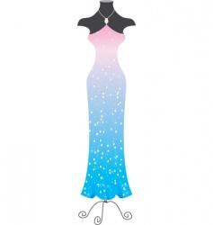 fashion dress vector image