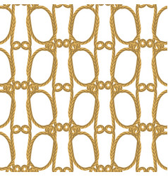 rope seamless pattern vector image