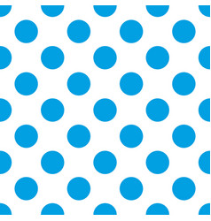 seamless pattern with big sailor navy blue dots vector image