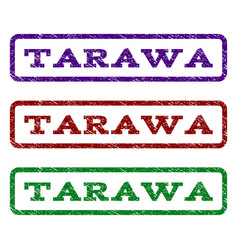 Tarawa watermark stamp vector