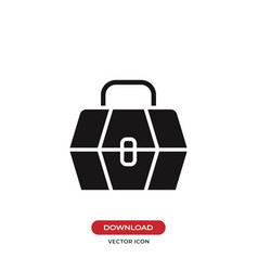 Tool box icon vector