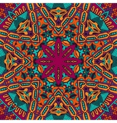 Abstract colorful mandala ethnic pattern vector image vector image