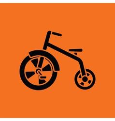 Baby trike ico vector image