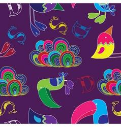 toucan birds vector image vector image