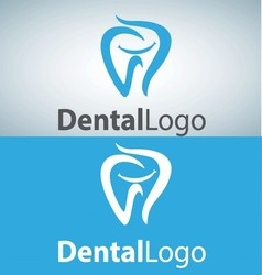 dental logo 12 vector image