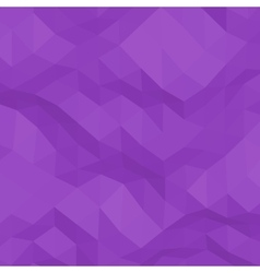 Purple abstract triangular background vector image
