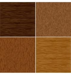 Set wood seamless backgrounds vector