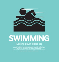 Swimming EPS10 vector