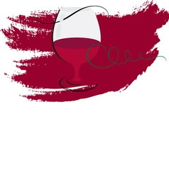 wine3 vector image