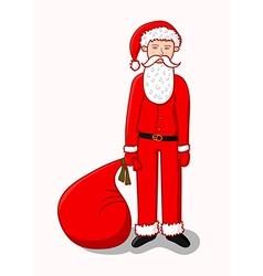 Young Santa Claus vector image
