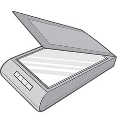 Scanner vector image vector image