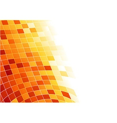 Abstract tile background - cells in 3d vector image