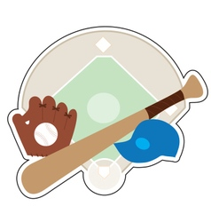 Baseball Stuff vector image