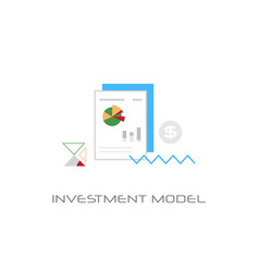 business project successful financial investment vector image