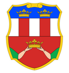 eastern rumelia coat of arms vector image