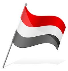Flag egypt vector