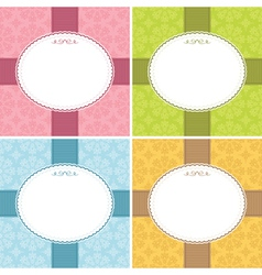 frame decorations vector image