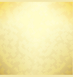 golden spotted background vector image vector image