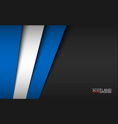 modern background with scottish colors vector image