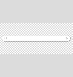 search bar icon flat design style vector image