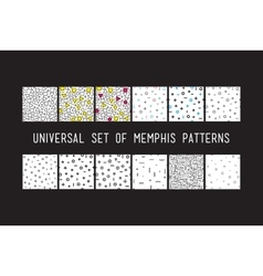 Set of universal fashion geometric seamless vector