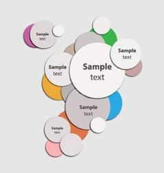 circle abstrac vector image vector image