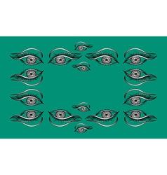 Expressive look vector image