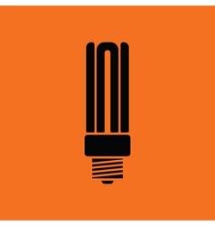 Energy saving light bulb icon vector image