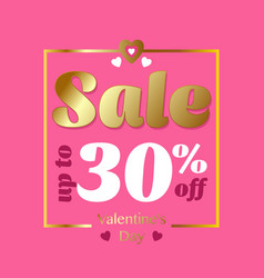 holiday sale banner 30 off special offer ad vector image