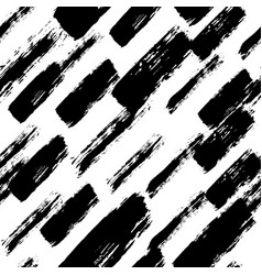 Painted pattern irregular brush strokes vector