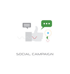 successful business strategy planning social vector image
