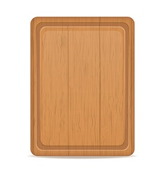cutting board 02 vector image
