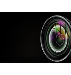 colorful camera vector image