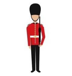 Avatar british guard graphic vector