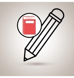 book literature library icon vector image