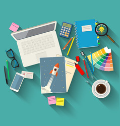 Concepts of creativity vector image