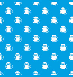 dental floss pattern seamless blue vector image