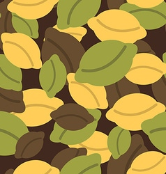Military texture of dumplings Camouflage army vector image