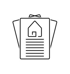 Property paper vector