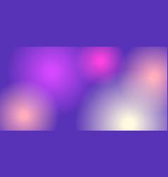 round neon background vector image