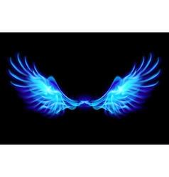 Fair wings Blue vector image