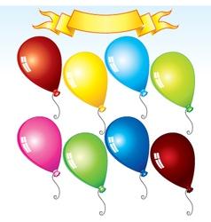 happy birthday kit vector image vector image