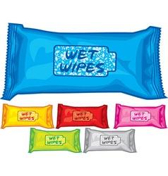 Wet wipes vector