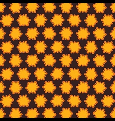 yellow abstract design pattern background vector image vector image