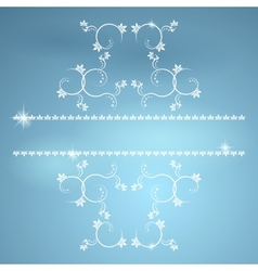 Vintage monograms for decoration EPS10 vector image